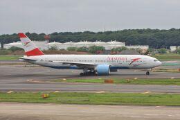 wunalaさんが、成田国際空港で撮影したオーストリア航空 777-2Q8/ERの航空フォト(飛行機 写真・画像)