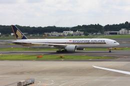 wunalaさんが、成田国際空港で撮影したシンガポール航空 777-312/ERの航空フォト(飛行機 写真・画像)