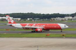 wunalaさんが、成田国際空港で撮影したタイ・エアアジア・エックス A330-343Xの航空フォト(飛行機 写真・画像)