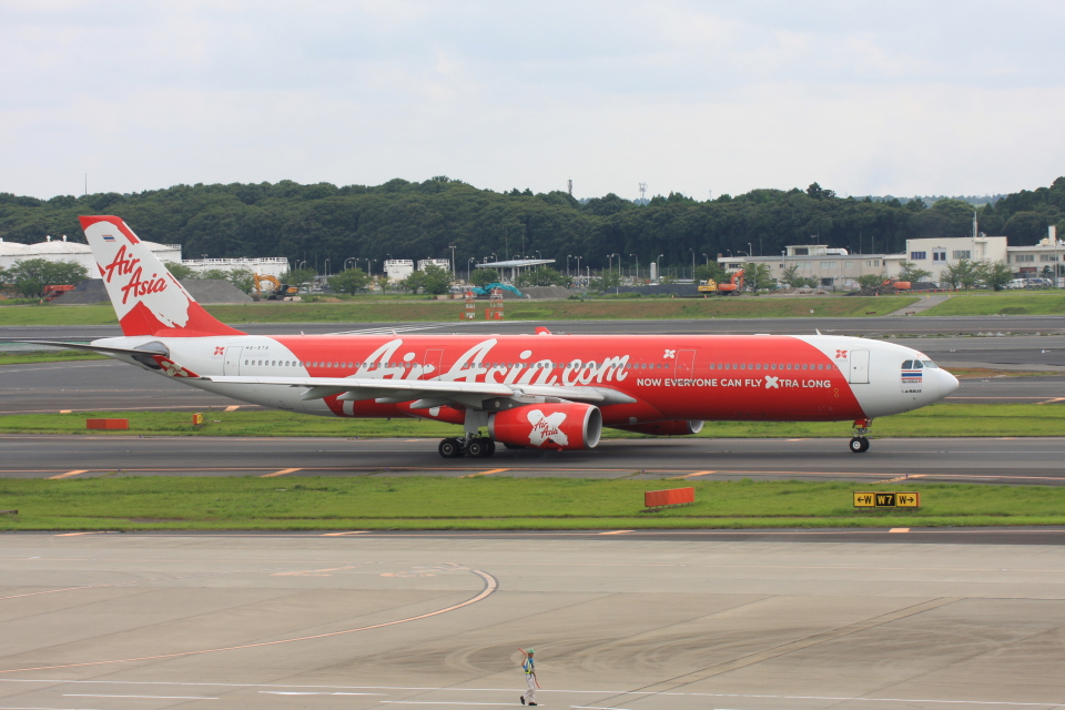 wunalaさんのタイ・エアアジア・エックス Airbus A330-300 (HS-XTA) 航空フォト
