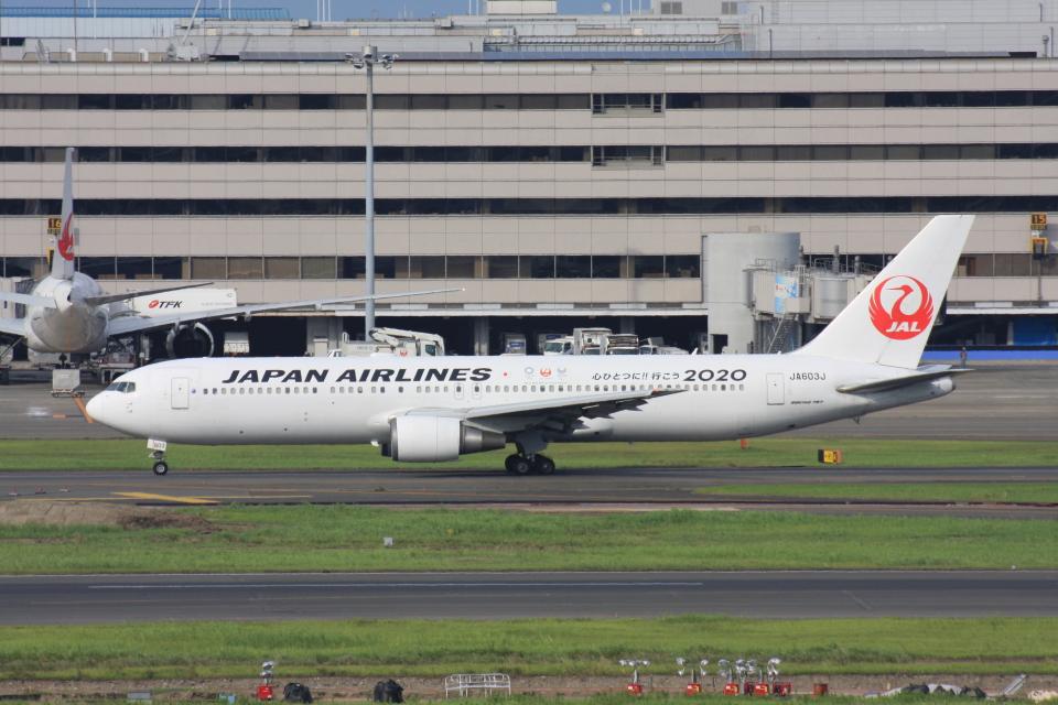 wunalaさんの日本航空 Boeing 767-300 (JA603J) 航空フォト