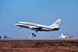 パール大山さんが、ハーツフィールド・ジャクソン・アトランタ国際空港で撮影したピードモント航空 737-222の航空フォト(飛行機 写真・画像)