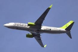 sonnyさんが、羽田空港で撮影したソラシド エア 737-81Dの航空フォト(飛行機 写真・画像)