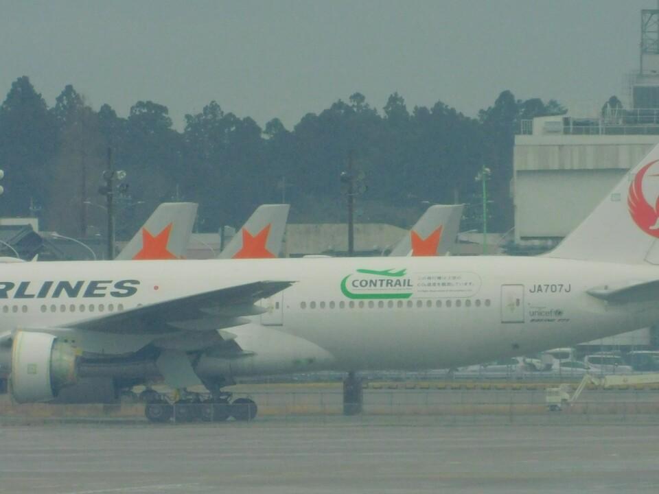 さんまるエアラインさんの日本航空 Boeing 777-200 (JA707J) 航空フォト