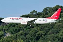 kan787allさんが、福岡空港で撮影したイースター航空 737-86Nの航空フォト(飛行機 写真・画像)
