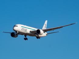名無しの権兵衛さんが、成田国際空港で撮影したZIPAIR 787-8 Dreamlinerの航空フォト(飛行機 写真・画像)