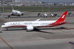 kinsanさんが、羽田空港で撮影した上海航空 787-9の航空フォト(飛行機 写真・画像)