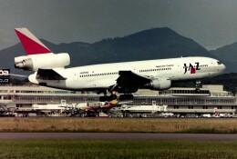 ansett747さんが、福岡空港で撮影したジャパンエアチャーター DC-10-40の航空フォト(飛行機 写真・画像)
