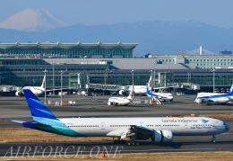 AIRFORCE ONEさんが、成田国際空港で撮影したガルーダ・インドネシア航空 777-3U3/ERの航空フォト(飛行機 写真・画像)