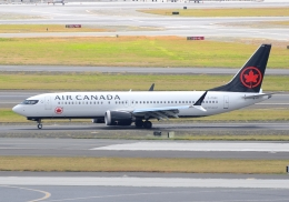 ITM58さんが、ダニエル・K・イノウエ国際空港で撮影したエア・カナダ 737-8-MAXの航空フォト(飛行機 写真・画像)
