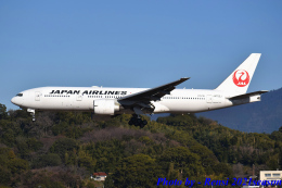 れんしさんが、福岡空港で撮影した日本航空 777-246/ERの航空フォト(飛行機 写真・画像)