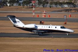 れんしさんが、福岡空港で撮影したユタ銀行 525C Citation CJ4の航空フォト(飛行機 写真・画像)