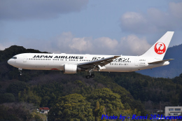 れんしさんが、福岡空港で撮影した日本航空 767-346/ERの航空フォト(飛行機 写真・画像)