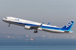 航空フォト:JA114A 全日空 A321