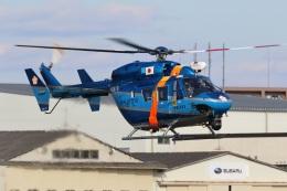 レガシィさんが、宇都宮飛行場で撮影した栃木県警察 BK117C-1の航空フォト(飛行機 写真・画像)