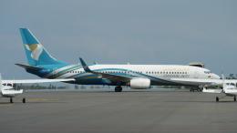 singapore346さんが、ザンジバル国際空港で撮影したオマーン航空 737-8Q8の航空フォト(飛行機 写真・画像)