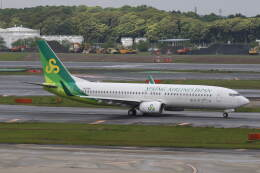プルシアンブルーさんが、成田国際空港で撮影した春秋航空日本 737-86Nの航空フォト(飛行機 写真・画像)