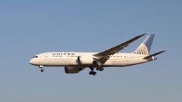 raichanさんが、成田国際空港で撮影したユナイテッド航空 787-8 Dreamlinerの航空フォト(飛行機 写真・画像)