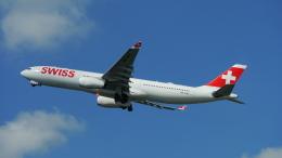 singapore346さんが、チューリッヒ空港で撮影したスイスインターナショナルエアラインズ A330-343Xの航空フォト(飛行機 写真・画像)