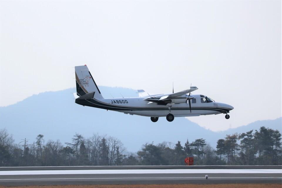 ヒロジーさんの日本個人所有 Gulfstream Aerospace 690/695 Jetprop (JA8600) 航空フォト