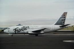 ゴンタさんが、フェニックス・スカイハーバー国際空港で撮影したフロンティア航空 737-201の航空フォト(飛行機 写真・画像)