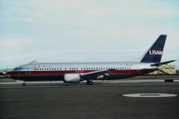 ゴンタさんが、フェニックス・スカイハーバー国際空港で撮影したUSエア 737-401の航空フォト(飛行機 写真・画像)