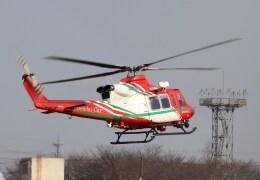 4engineさんが、宇都宮飛行場で撮影した仙台市消防航空隊 412EPの航空フォト(飛行機 写真・画像)