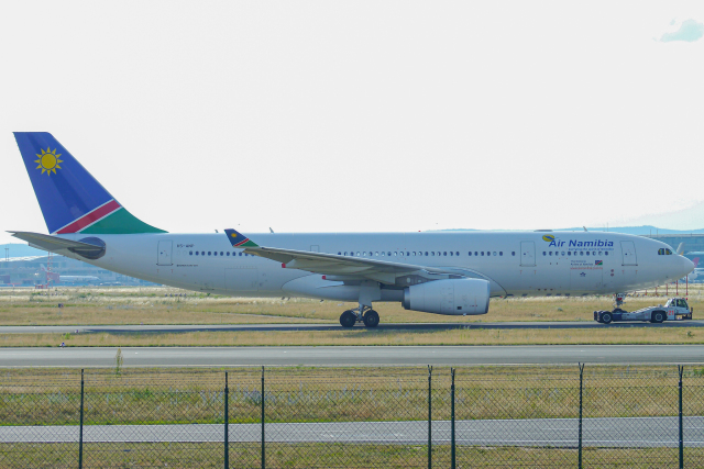 singapore346さんが、フランクフルト国際空港で撮影したナミビア航空 A330-243の航空フォト(飛行機 写真・画像)