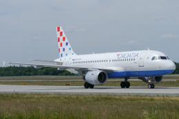 singapore346さんが、フランクフルト国際空港で撮影したクロアチア航空 A319-112の航空フォト(飛行機 写真・画像)