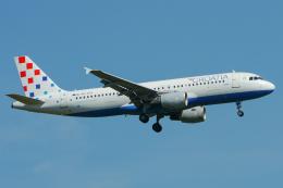 singapore346さんが、フランクフルト国際空港で撮影したクロアチア航空 A320-214の航空フォト(飛行機 写真・画像)