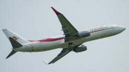 singapore346さんが、トゥールーズ・ブラニャック空港で撮影したアルジェリア航空 737-8D6の航空フォト(飛行機 写真・画像)