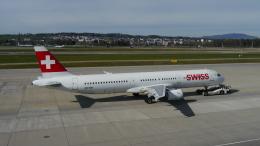 singapore346さんが、チューリッヒ空港で撮影したスイスインターナショナルエアラインズ A321-131の航空フォト(飛行機 写真・画像)