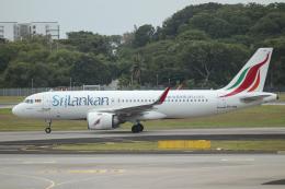 singapore346さんが、シンガポール・チャンギ国際空港で撮影したスリランカ航空 A320-251Nの航空フォト(飛行機 写真・画像)