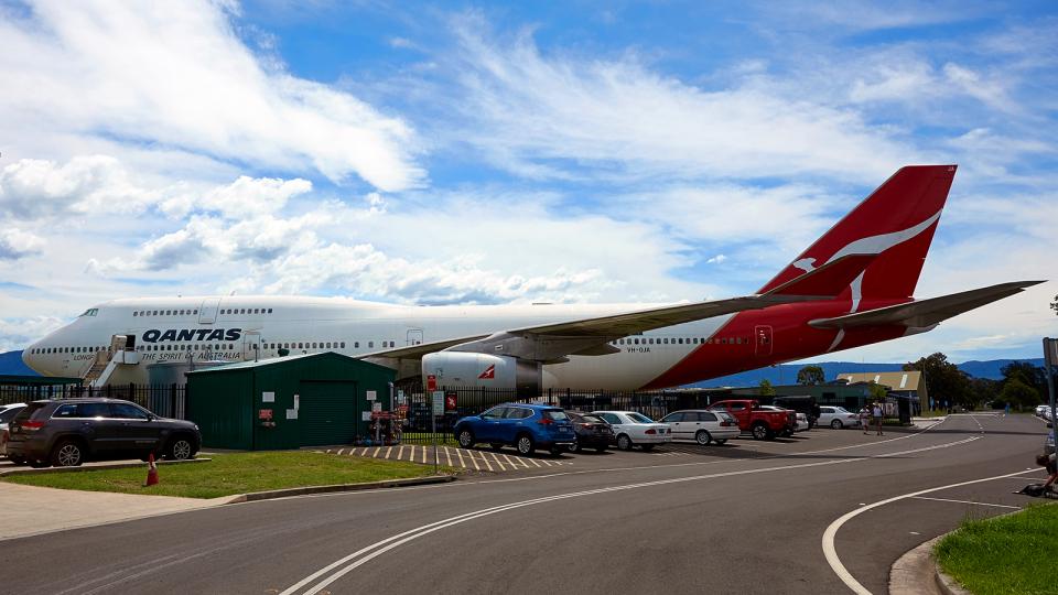 FlyingMonkeyさんのカンタス航空 Boeing 747-400 (VH-OJA) 航空フォト