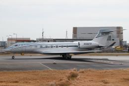 kuraykiさんが、羽田空港で撮影したウィルミントン・トラスト・カンパニー G650 (G-VI)の航空フォト(飛行機 写真・画像)