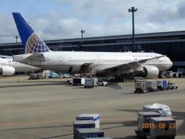 mich_stoneさんが、成田国際空港で撮影したユナイテッド航空 777-222/ERの航空フォト(飛行機 写真・画像)