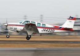 航空フォト:JA4220 エス・ジー・シー佐賀航空 36 Bonanza