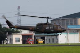 banshee02さんが、宇都宮飛行場で撮影した陸上自衛隊 UH-1Jの航空フォト(飛行機 写真・画像)