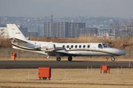 やまけんさんが、仙台空港で撮影した中日本航空 560 Citation Vの航空フォト(飛行機 写真・画像)