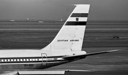 Y.Todaさんが、羽田空港で撮影したエジプト航空 707-300の航空フォト(飛行機 写真・画像)