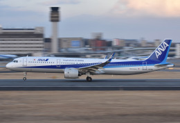 ITM44さんが、伊丹空港で撮影した全日空 A321-272Nの航空フォト(飛行機 写真・画像)