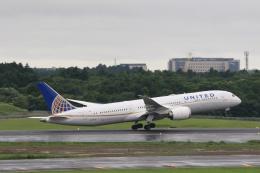 inyoさんが、成田国際空港で撮影したユナイテッド航空 787-9の航空フォト(飛行機 写真・画像)