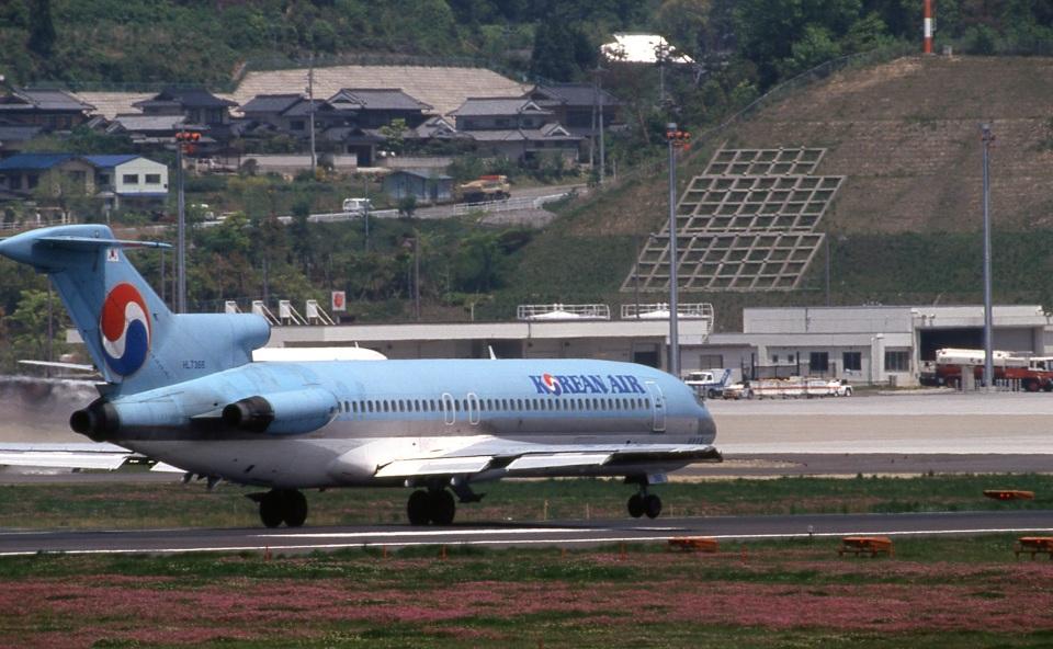 LEVEL789さんの大韓航空 Boeing 727-200 (HL7366) 航空フォト