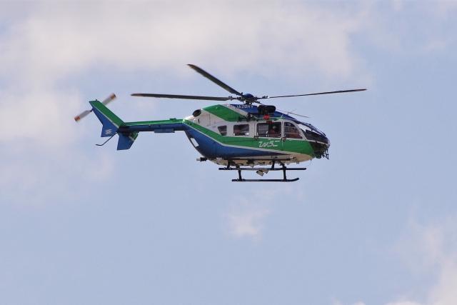 mild lifeさんが、神戸空港で撮影した兵庫県消防防災航空隊 BK117C-2の航空フォト(飛行機 写真・画像)