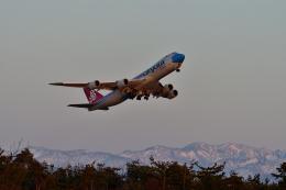 ひこ☆さんが、小松空港で撮影したカーゴルクス 747-8R7F/SCDの航空フォト(飛行機 写真・画像)