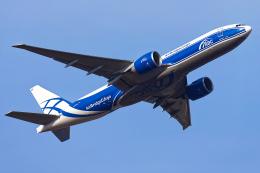 多摩川崎2Kさんが、成田国際空港で撮影したエアブリッジ・カーゴ・エアラインズ 777-Fの航空フォト(飛行機 写真・画像)