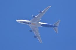 レガシィさんが、宇都宮市内で撮影したアトラス航空 747-47UF/SCDの航空フォト(飛行機 写真・画像)