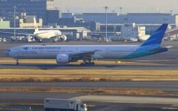 VICTER8929さんが、羽田空港で撮影したガルーダ・インドネシア航空 777-3U3/ERの航空フォト(飛行機 写真・画像)