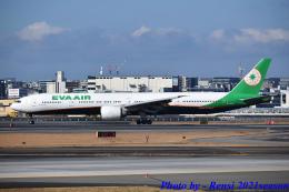 れんしさんが、福岡空港で撮影したエバー航空 777-35E/ERの航空フォト(飛行機 写真・画像)