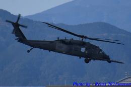 れんしさんが、福岡空港で撮影したアメリカ空軍 HH-60G Pave Hawk (S-70A)の航空フォト(飛行機 写真・画像)